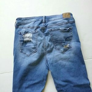 American Eagle Outfitters Jeans - American Eagle Destroy Hi Rise Jegging Ankle Jean